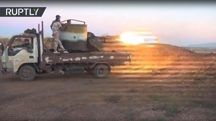 Israel ataca posiciones de artillería de Siria (VIDEO)