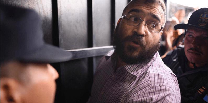 Yo sólo fui el pagador, afirma Javier Duarte desde prisión