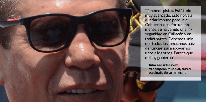 """""""Parece que no hay Gobierno. Hoy fue mi hermano, mañana seré yo"""": JC Chávez"""