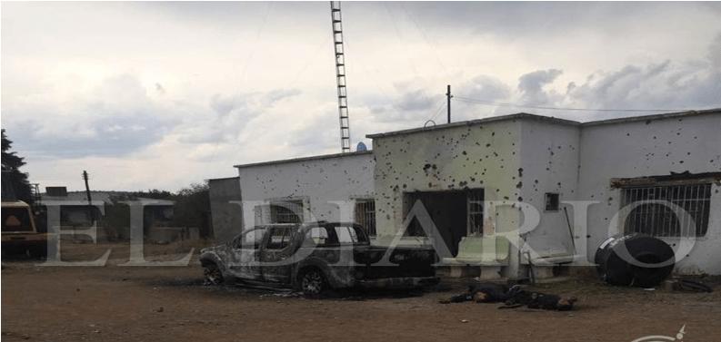 Atacan a agentes estatales en Madera: 2 muertos y 2 heridos