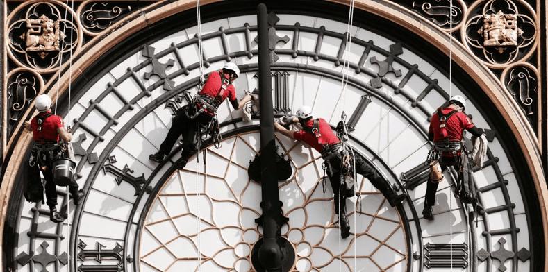 Suenan últimas campanadas del Big Ben; guardará silencio hasta el 2021 (VIDEO)