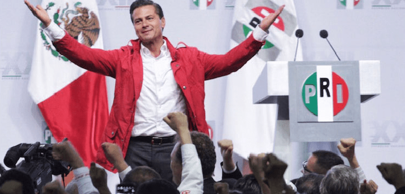 """""""La liturgia"""" de la sucesión, según Peña Nieto"""