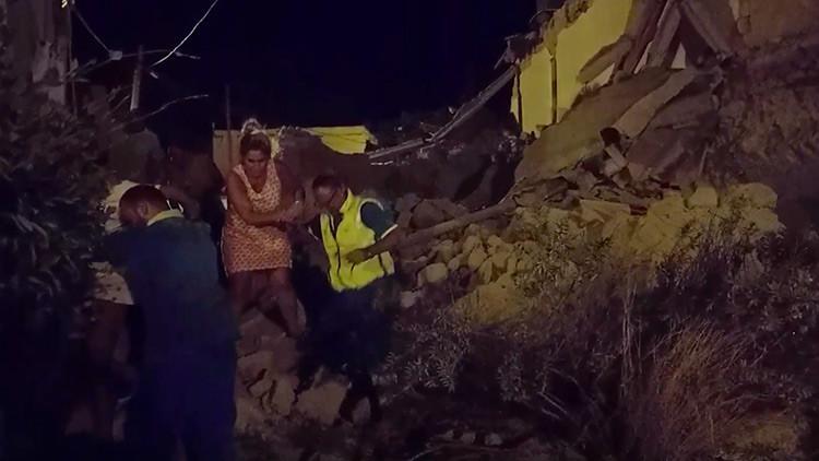 Sismo de 3.6 causa destrucción en Nápoles (VIDEO)