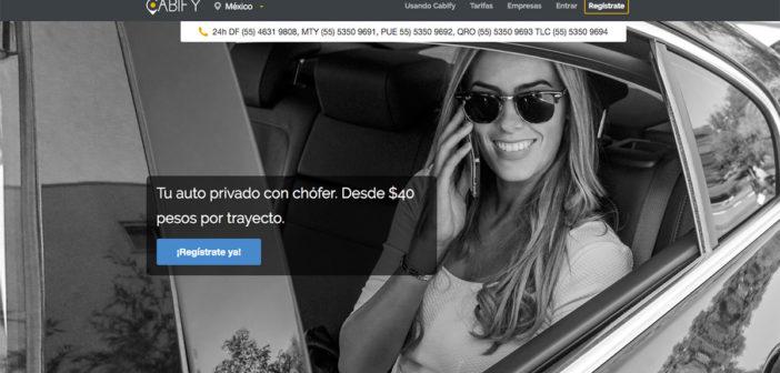 Tras asesinato de Mara, cancelan registro de Cabify en Puebla
