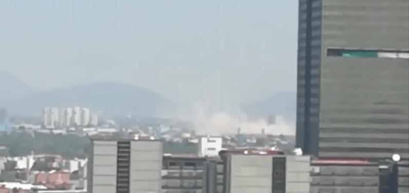 El sismo que estremeció a la Ciudad de México en 15 VIDEOS