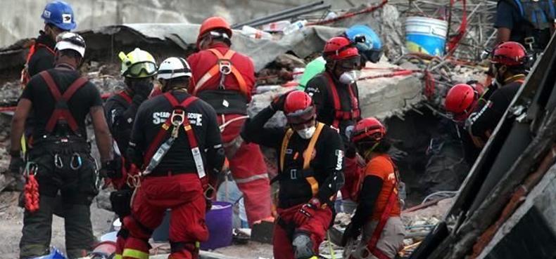 Todavía hay 50 atrapados en Álvaro Obregón, dicen rescatistas de Israel