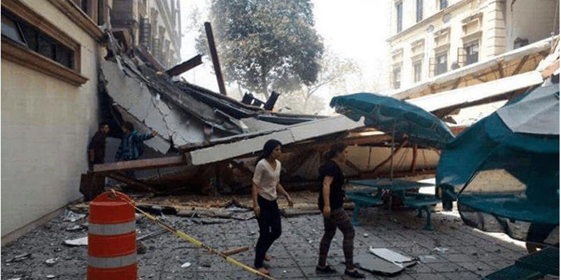 Derrumbe en el ITESM de CDMX deja 5 muertos y 40 heridos