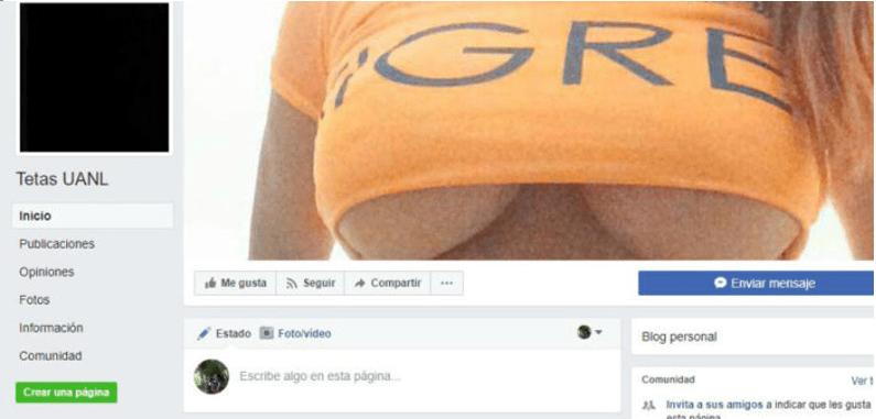 """Universitarias repudian """"cosificación"""" de la mujer en página del Face"""