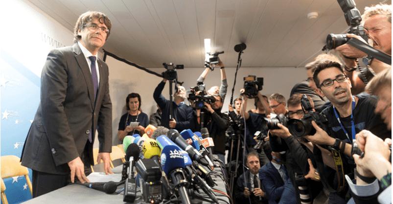 Aplazan pedido de extradición de Puigdemont