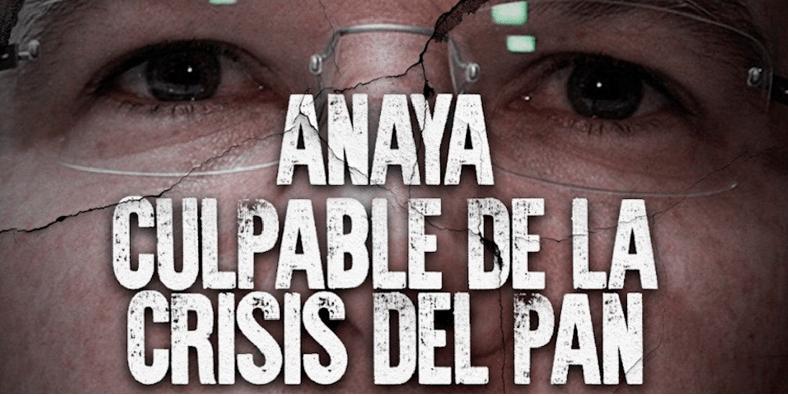 Hackean twitter del PAN y piden renuncia de Anaya; fue el PRI, dice