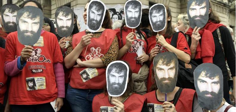 Hallan muerto al activista Santiago Maldonado en Argentina