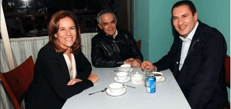 Mancera, Margarita y Moreno Valle se juntan en el hotel Presidente