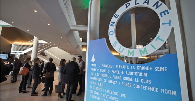 Sector financiero pacta en acciones contra cambio climático
