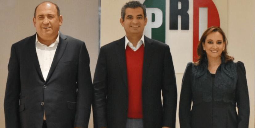 """Se va Ochoa Reza y sube Rubén Moreira""a la dirigencia del PRI"