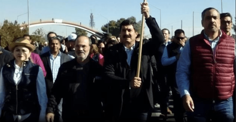 De Juárez a Palacio Nacional, en marcha la Caravana por la Dignidad (VIDEO)