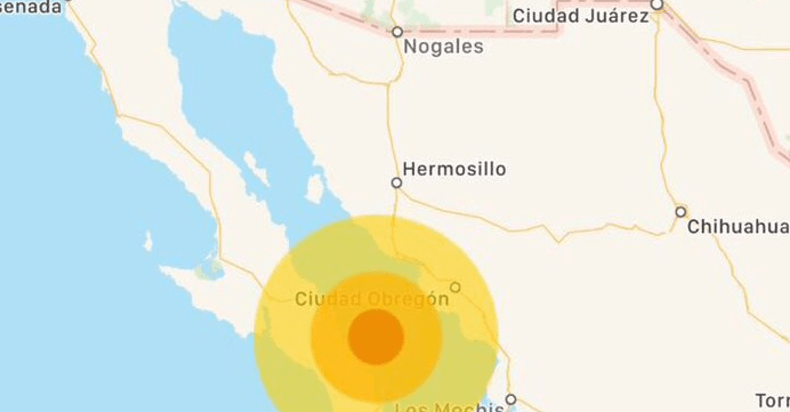 Sismo de 6.3 sacude a Baja California Sur