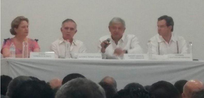 Propone AMLO cambiar a Meade por Nuño y a Anaya por Diego