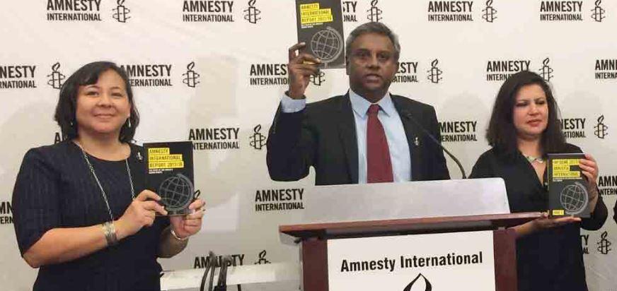 Amnistía acusa a gobierno de EPN de simulación en Derechos Humanos