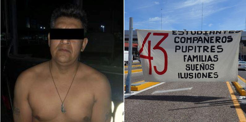 Dictan formal prision a La Rana, supuesto implicado en Ayotzinapa