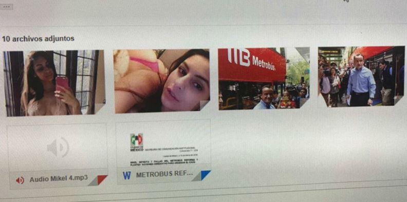 """Adjuntan fotos porno en comunicado de Mikel Arriola; fue un """"virus"""", dice PRI"""