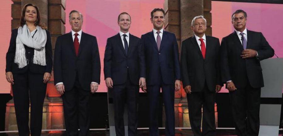 EN EL DEBATE PRESIDENCIAL, TODOS CONTRA AMLO
