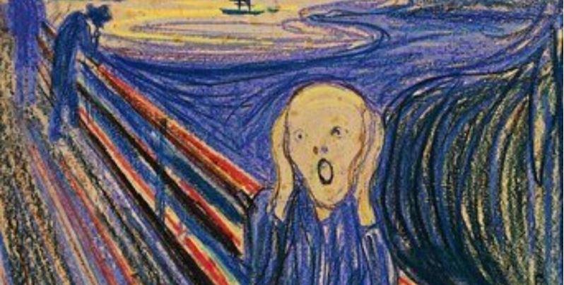 """Mensaje de Munch revela que personaje central de """"El Grito"""" no está gritando…"""