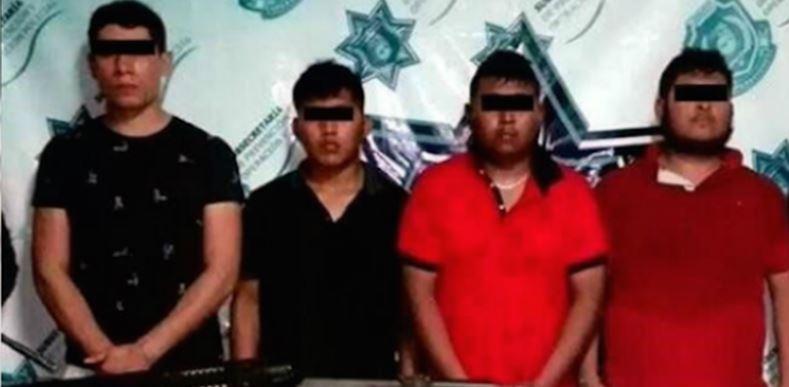 Caen 4 presuntos asesinos de policías que grabaron en Zihuatanejo