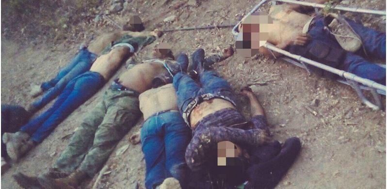 Enfrentamiento deja 10 pistoleros y seis policías muertos en Zihuatanejo