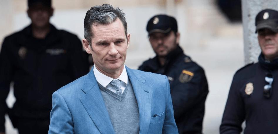 Ingresa a la cárcel el cuñado del rey Felipe VI