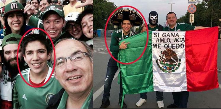 Hijo de Felipe Calderón dice: 'si gana AMLO' me quedo en Rusia