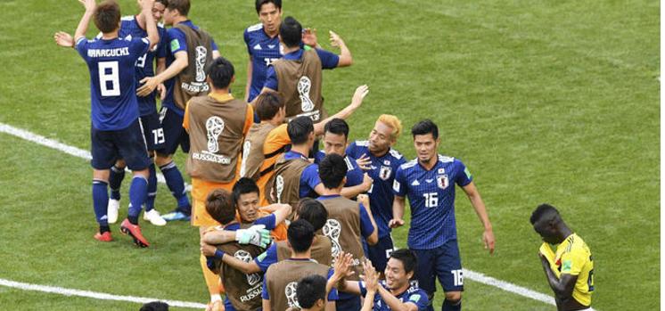 Colombia cae 2-1 ante Japón