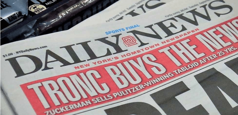 "Reduce ""Daily News"" personal a la mitad"
