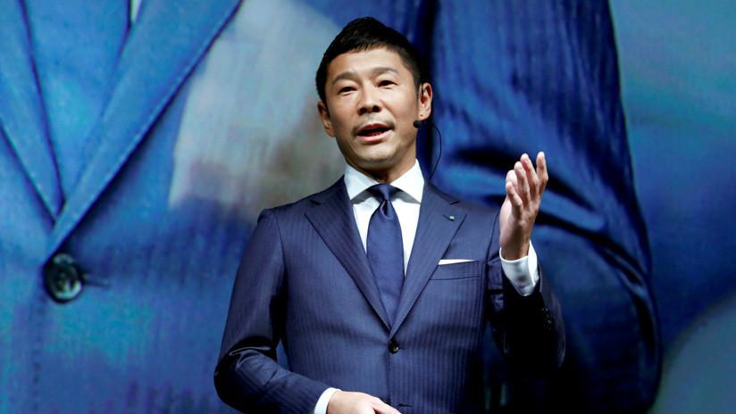 Multimillonario japonés, el primer turista lunar con SpaceX