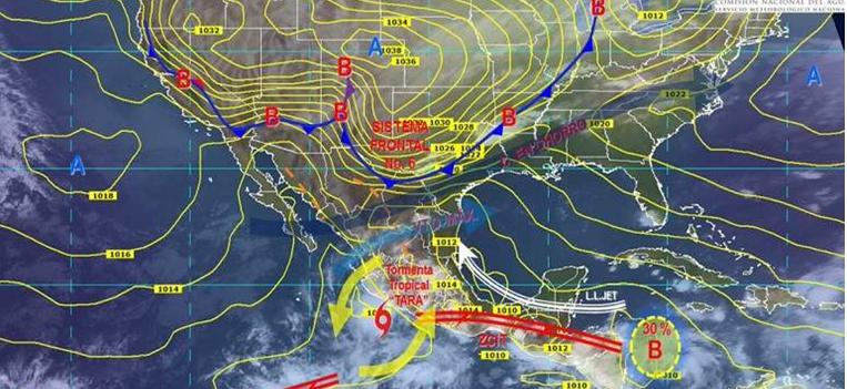 Prevén tormentas, bajas temperaturas y vientos en el norte