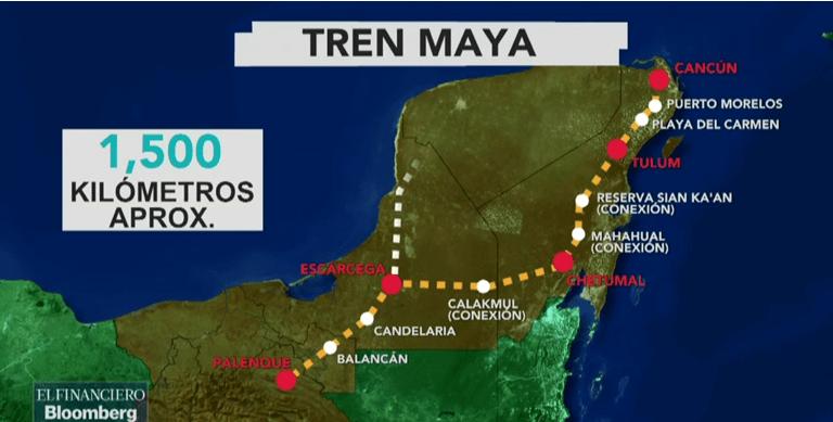 China, interesado en participar en el proyecto del Tren Maya