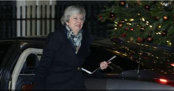 Supera Theresa May voto de confianza