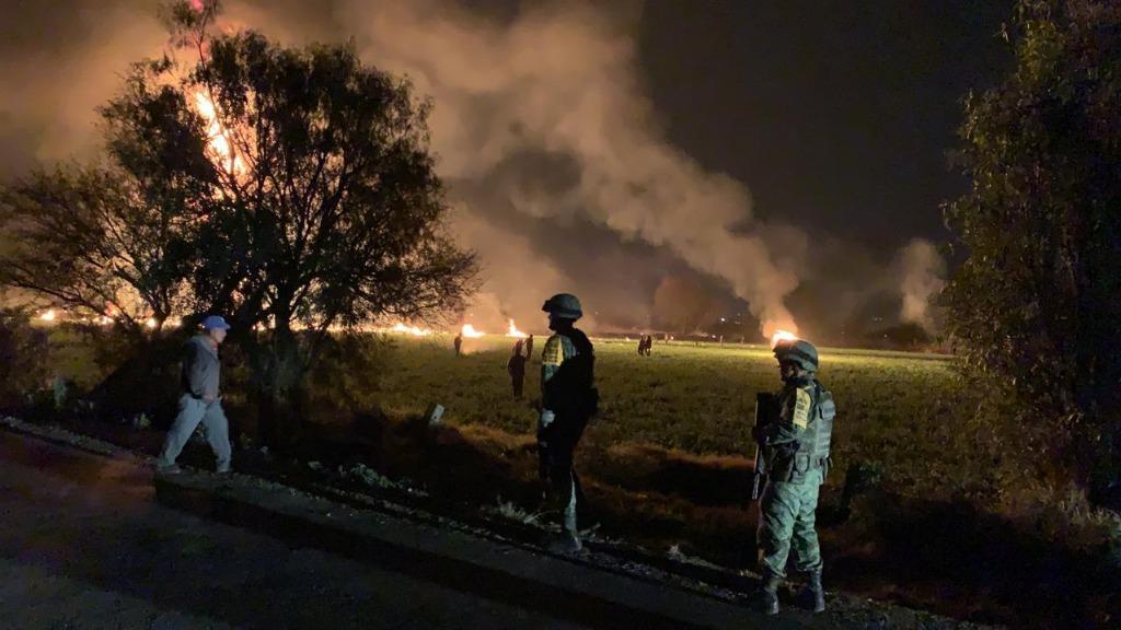 Sube a 91 la cifra de muertos por explosión en Hidalgo