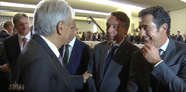 Azcárraga a AMLO: el América perdió para quedar bien con usted (VIDEO)