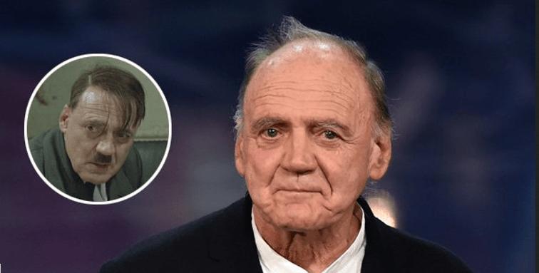 """Fallece el actor suizo Bruno Ganz, que encarnó a Hitler en """"La Caída"""""""