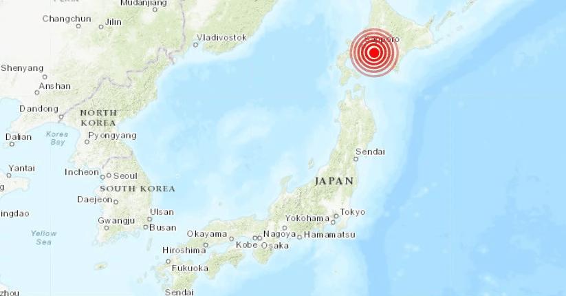 Sismo de 5.8 sacude la isla japonesa de Hokkaido