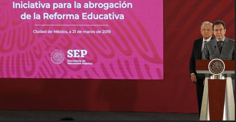 AMLO a maestros: voy a cumplir, la Reforma Educativa se va