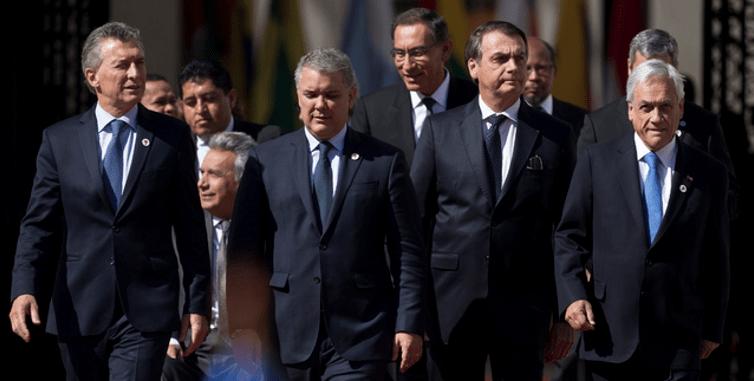 Países sudamericanos arman el Prosur contra Venezuela
