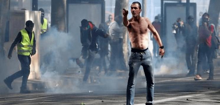 Van 23 semanas: Chalecos amarillos contra Macron (EN VIVO)