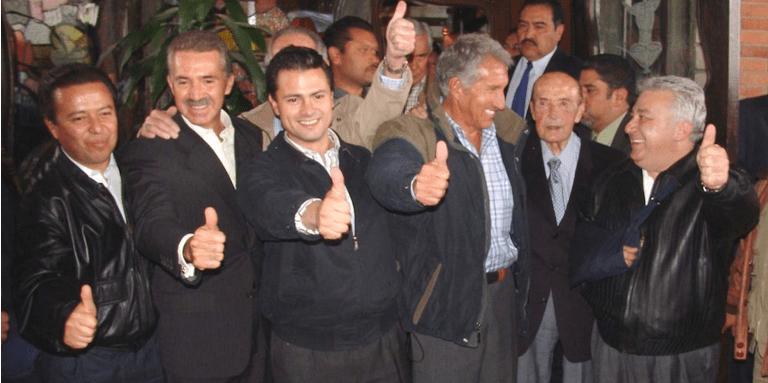 Retiran escoltas y asistentes a EPN, Montiel, Camacho, Chuayffet…