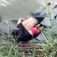 Mueren ahogados salvadoreño y su hija al intentar cruzar el Río Bravo