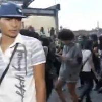 Hombre ataca a periodista durante manifestación de mujeres (VIDEO)