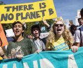 Protestan en el mundo por el cambio climático