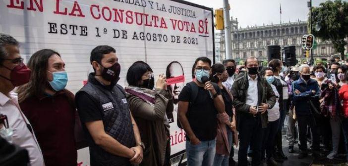 """""""La derecha minó la Consulta y el INE puso muchos obstáculos"""""""