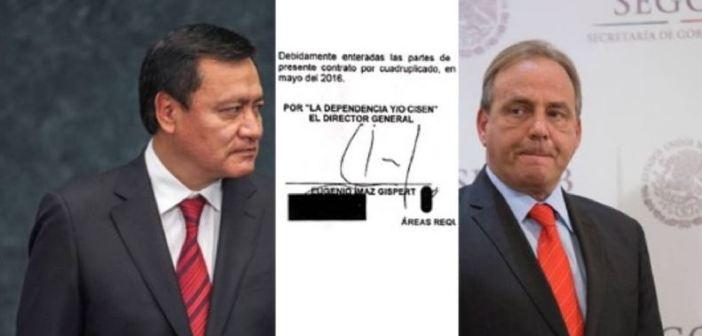 El Cisen de Osorio Chong sí compró el software Pegasus