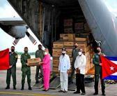 Llegan a Cuba insumos donados por México